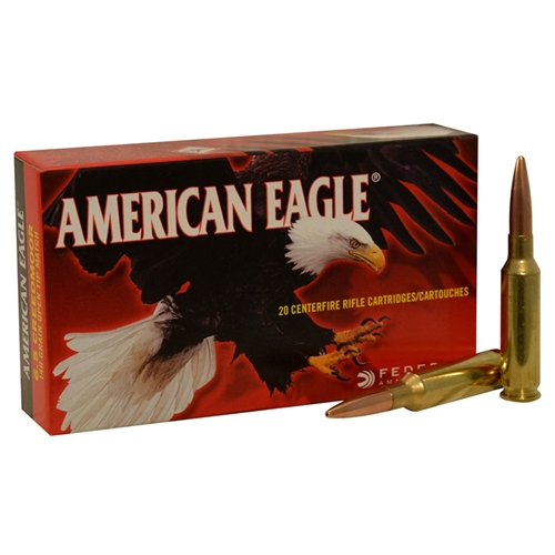 Federal American Eagle 6.5 Creedmoor Ammo 140 Grain OTM