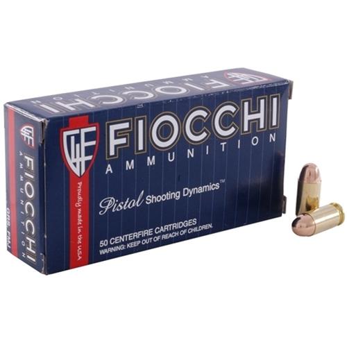 Fiocchi Shooting Dynamics 40 S&W Ammo 165 Grain TCEB