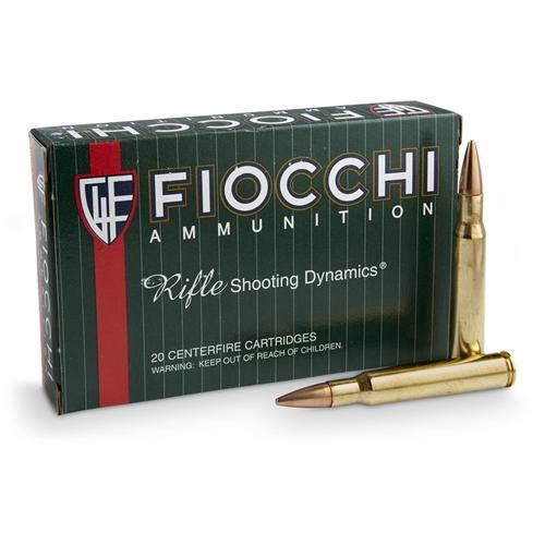 Fiocchi Shooting Dynamics 30-06 Springfield Ammo 150 Grain FMJ