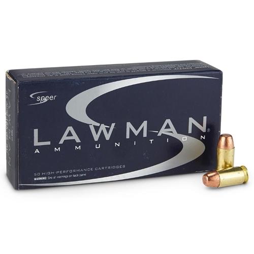 Speer Lawman 45 ACP AUTO Ammo 200 Grain TMJ