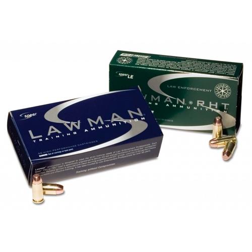 Speer Lawman RHT 357 SIG Ammo 100 Gr Frangible TMJ