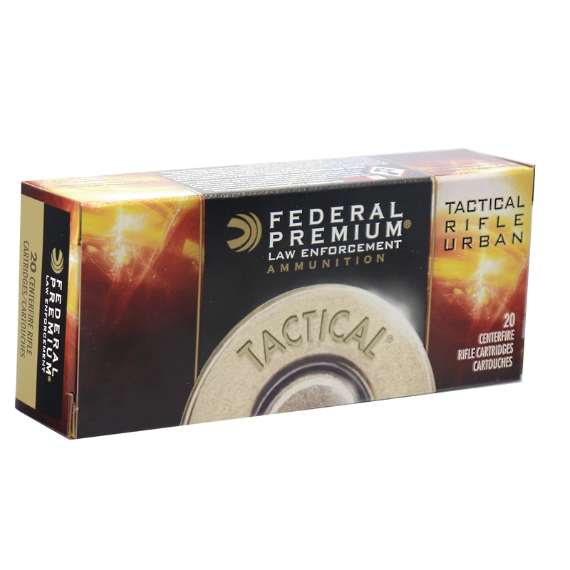Federal Law Enforcement Tactical TRU 223 Remington Ammo 64 Gr SP