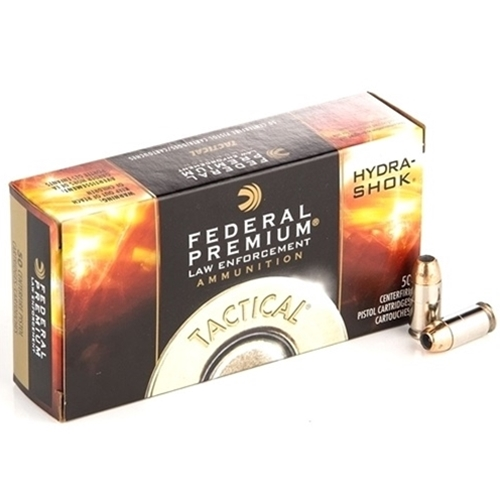 Federal Law Enforcement Ammo 40 S&W 155 Gr Hydra-Shok JHP