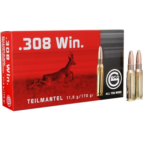 Geco 308 Winchester Ammo 170 Grain Soft Point