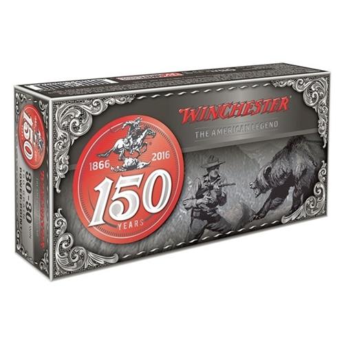 Winchester 150th Commemorative Anniversary 30-30 Win 150 Gr PP