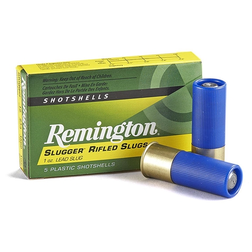 "Remington Slugger LE 12 Gauge Ammo 2-3/4"" 1oz Rifled Slug"