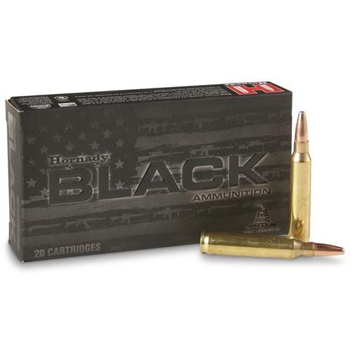 Hornady Black 5.56mm Ammo 75 Grain Interlock HD SBR