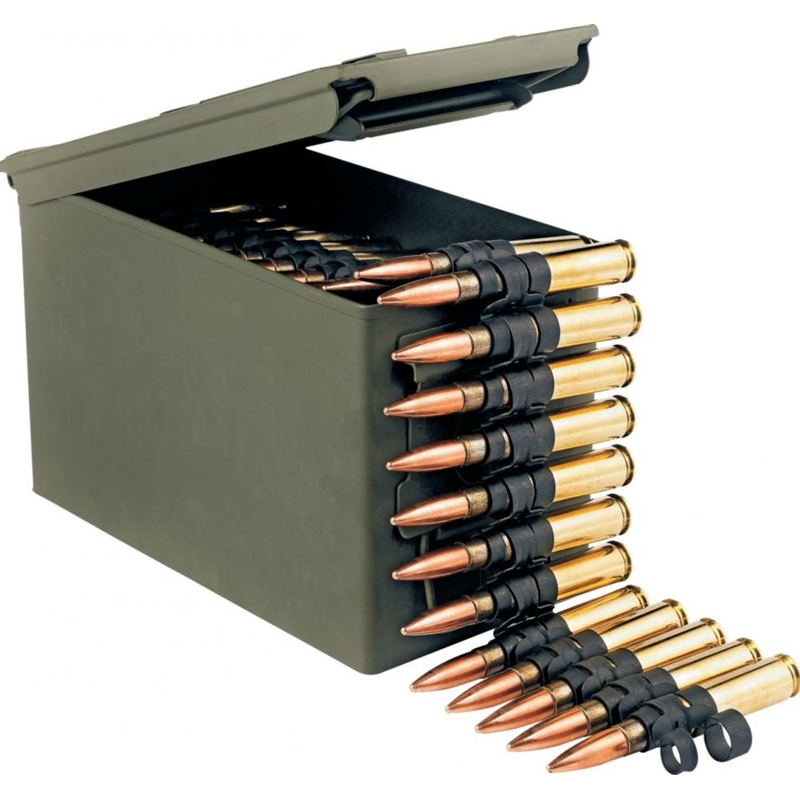 Federal Lake City 50 Cal BMG M33/M17 Ammo 690 Grain FMJ Linked with Ammo Can