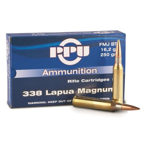 Prvi Partizan Match 338 Lapua Magnum Ammo 240 Grain Solid