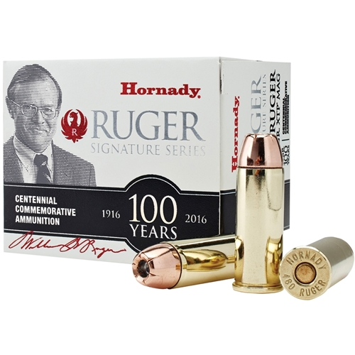 Hornady William B. Ruger Commemorative 480 Ruger Ammo 325 Grain XTP