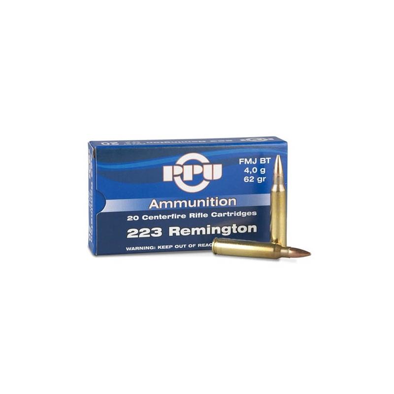 Prvi Partizan 223 Remington Ammo 62 Grain Full Metal Jacket