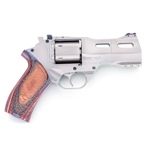 Chiappa Firearms Grade 2 Rhino 40 SAR 40 S&W Revolver 6 Rds Steel