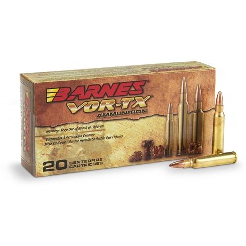 Barnes VOR-TX 5.56x45mm NATO Ammo 62 Grain TSX HPLF