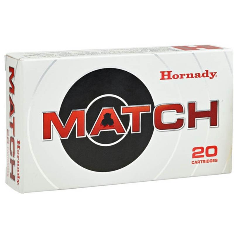 Hornady Match 308 Winchester Ammo 168 Grain ELD Match