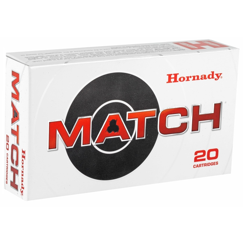 Hornady Match 6mm Creedmoor Ammo 108 Grain ELD Match