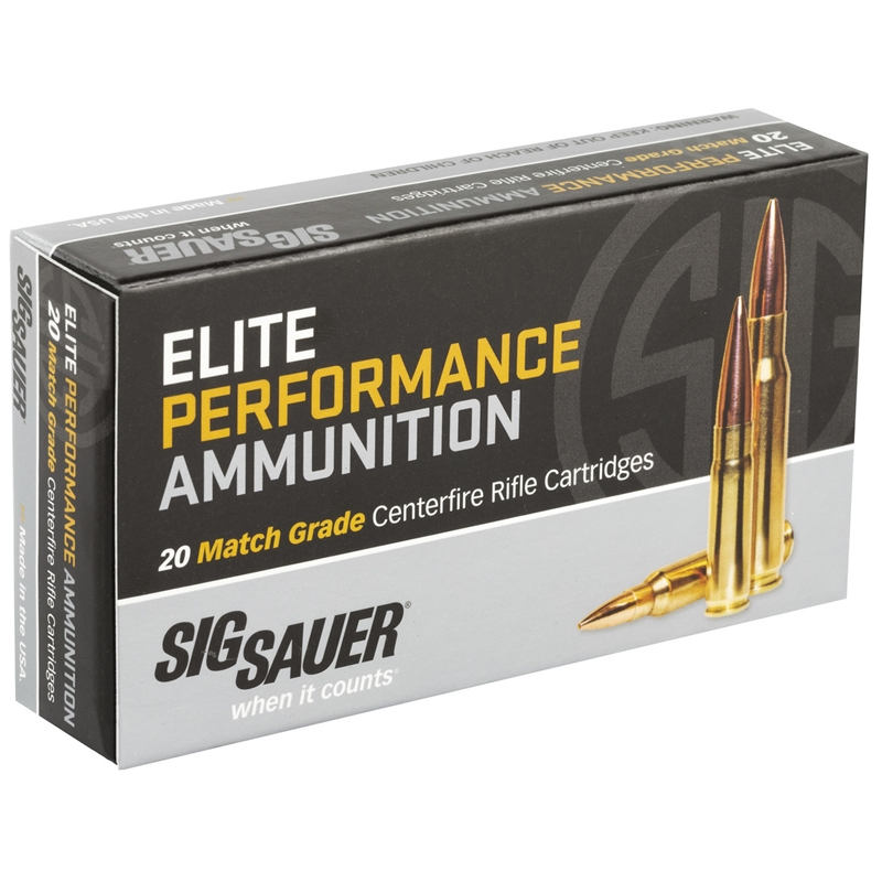 Sig Sauer Elite Performance 223 Remington Ammo 77 Grain OTM