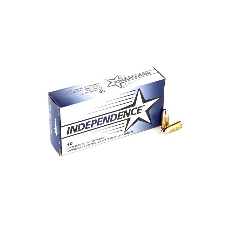 Independence 9mm Luger 115 Grain Full Metal Jacket