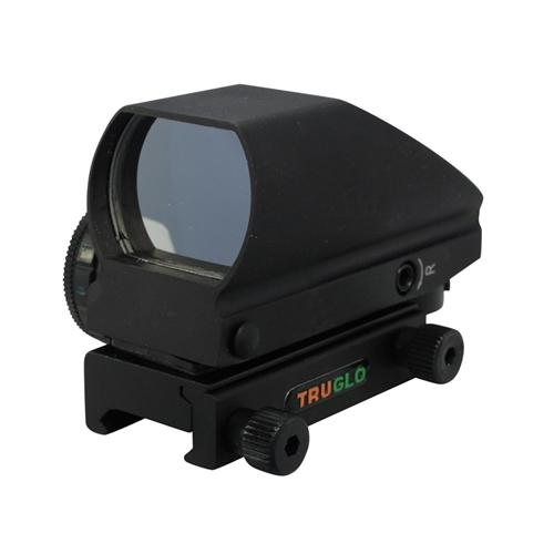 TruGlo Tru-Brite Reflex Red Dot Sight Red/Green 4-Pattern Reticle