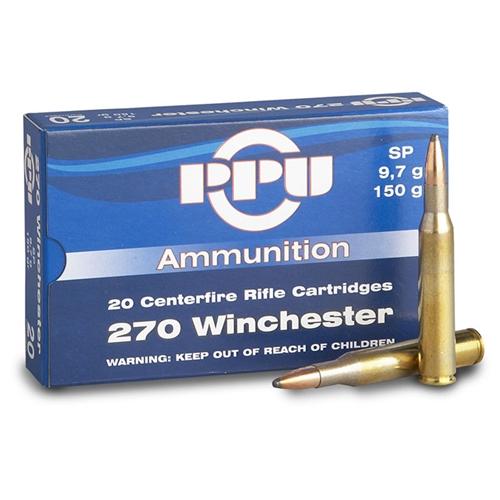 Prvi Partizan 270 Winchester Ammo 150 Grain Soft Point