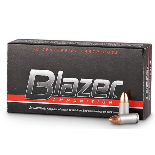 CCI Blazer 40 S&W Ammo 180 Grain Full Metal Jacket