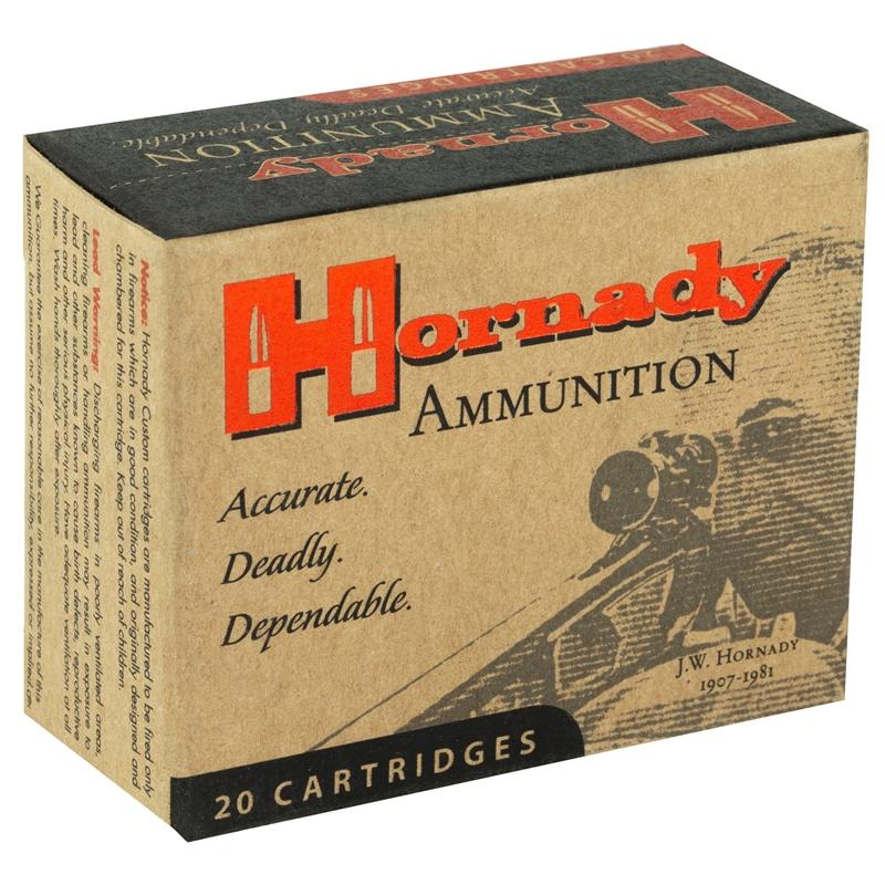 Hornady Custom 40 S&W Ammo 155 Grain XTP JHP