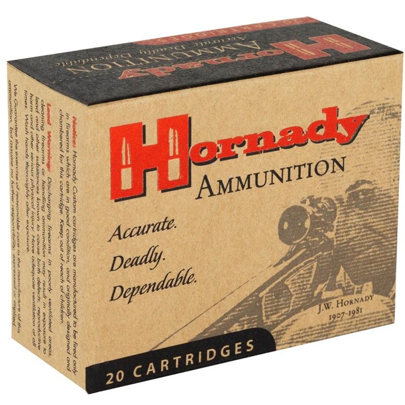 Hornady Custom 10mm Auto Ammo 155 Grain XTP JHP