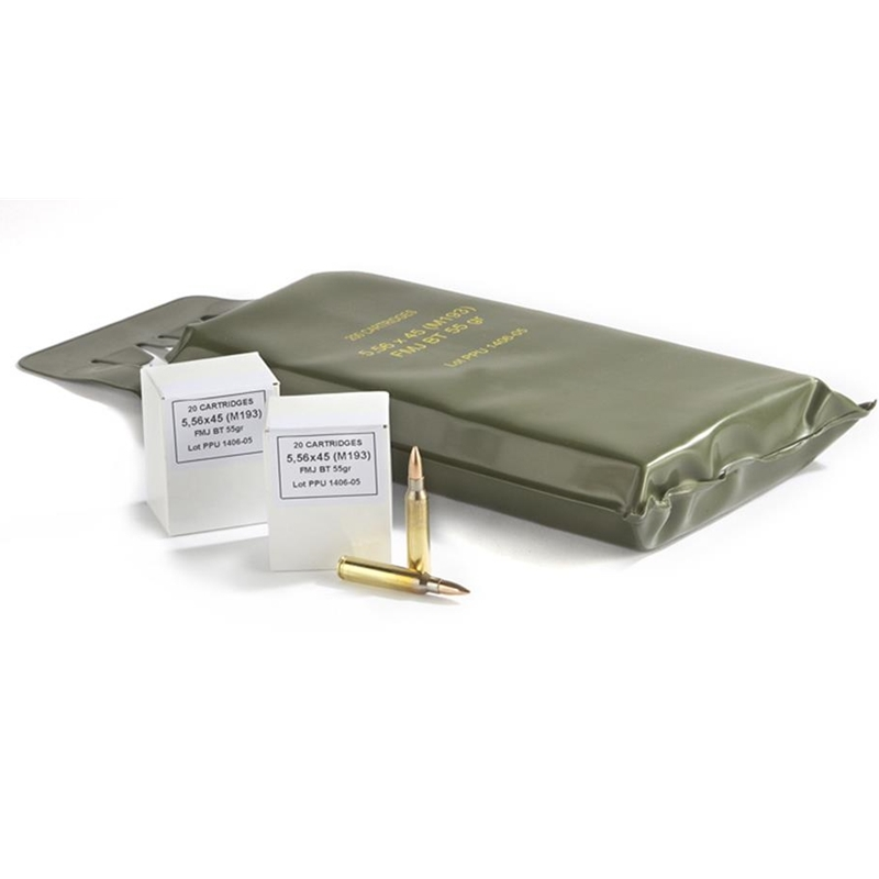 Prvi Partizan 5.56x45mm M193 NATO Ammo 55 Grain FMJ Battle Pack
