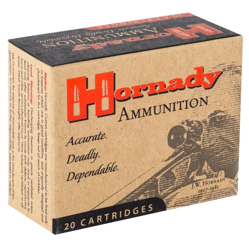 Hornady Custom 45 ACP Auto Ammo +P 230 Grain XTP JHP