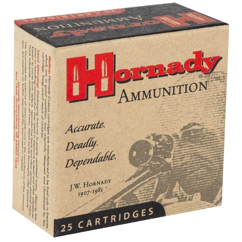 Hornady Custom 9mm Luger Ammo 147 Grain XTP JHP