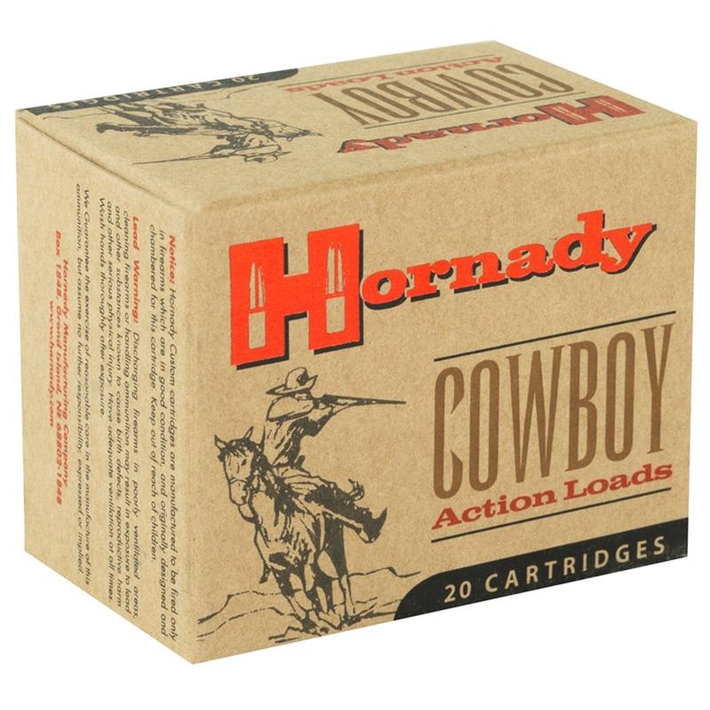 Hornady Cowboy Action 45 Long Colt Ammo 255 Gr LFN