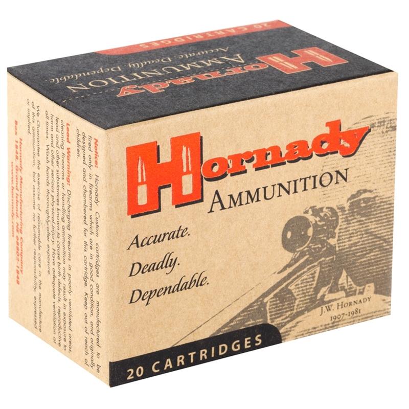 Hornady Custom 44 Remington Magnum Ammo 200 Gr XTP JHP