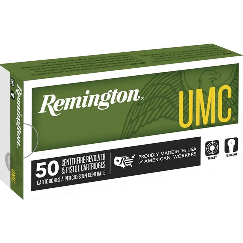 Remington UMC 38 Special Ammo 158 Grain Lead Round Nose