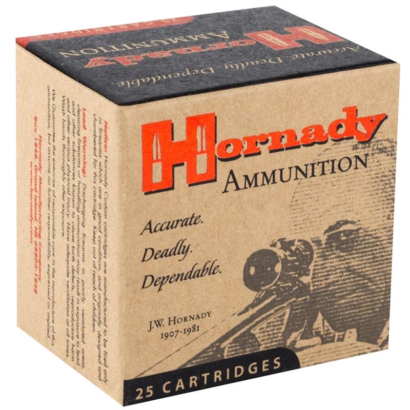 Hornady Custom 38 Special Ammo 158 Grain XTP JHP
