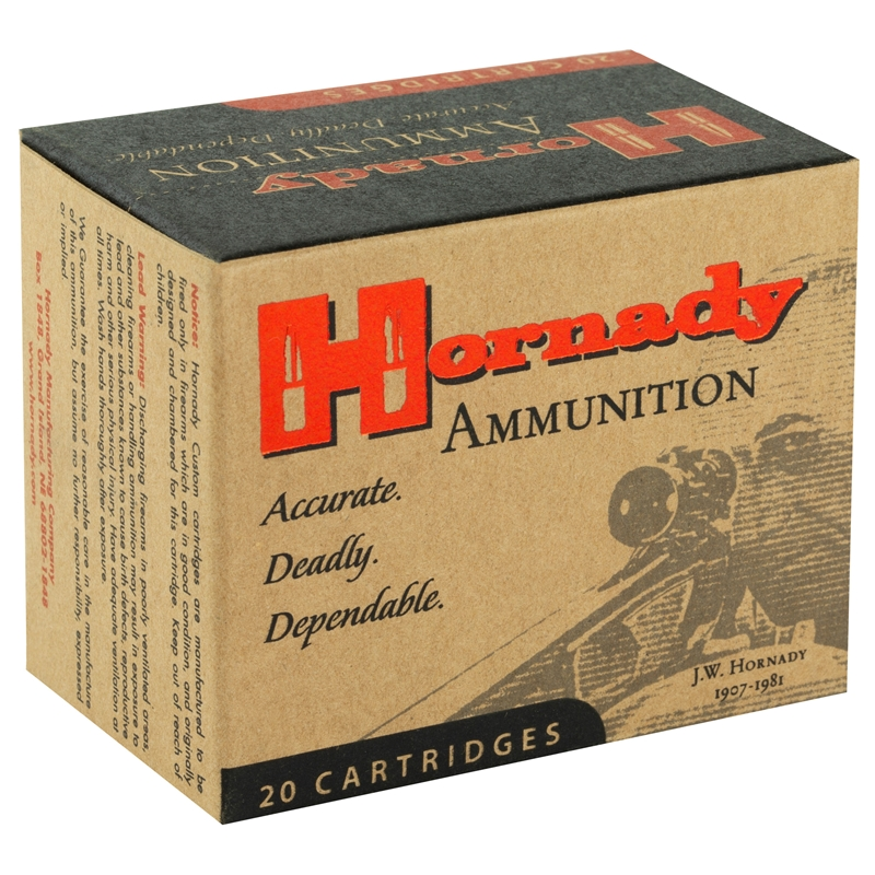 Hornady Custom 44 Remington Magnum Ammo 300 Grain XTP Jacketed Hollow Point