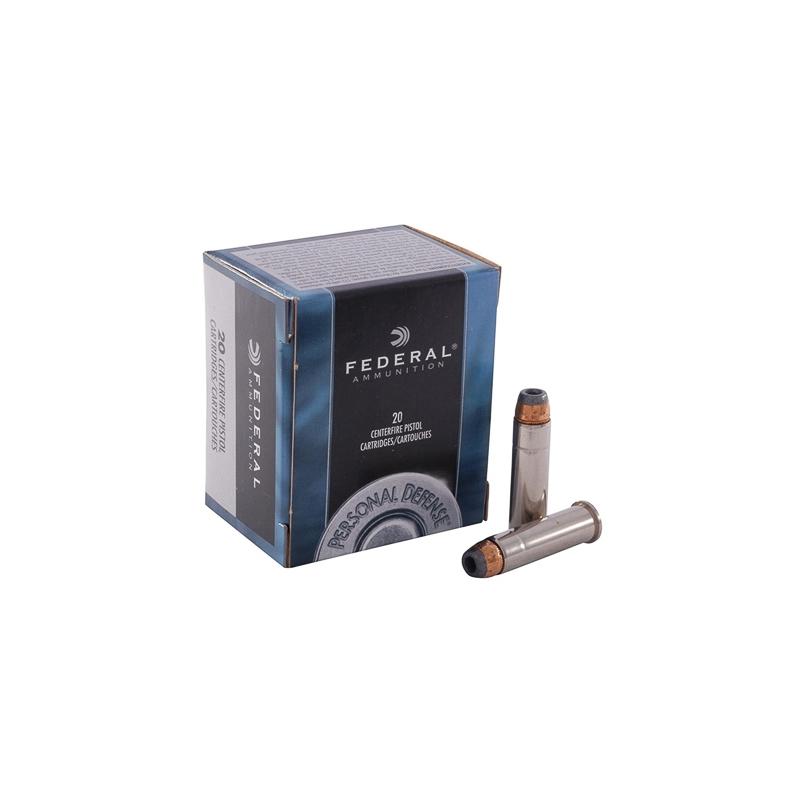 Federal Personal Defense 357 Magnum Ammo 125 Grain JHP