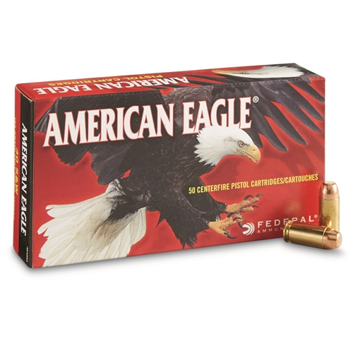 Federal American Eagle 40 S&W Ammo 165 Grain FMJ