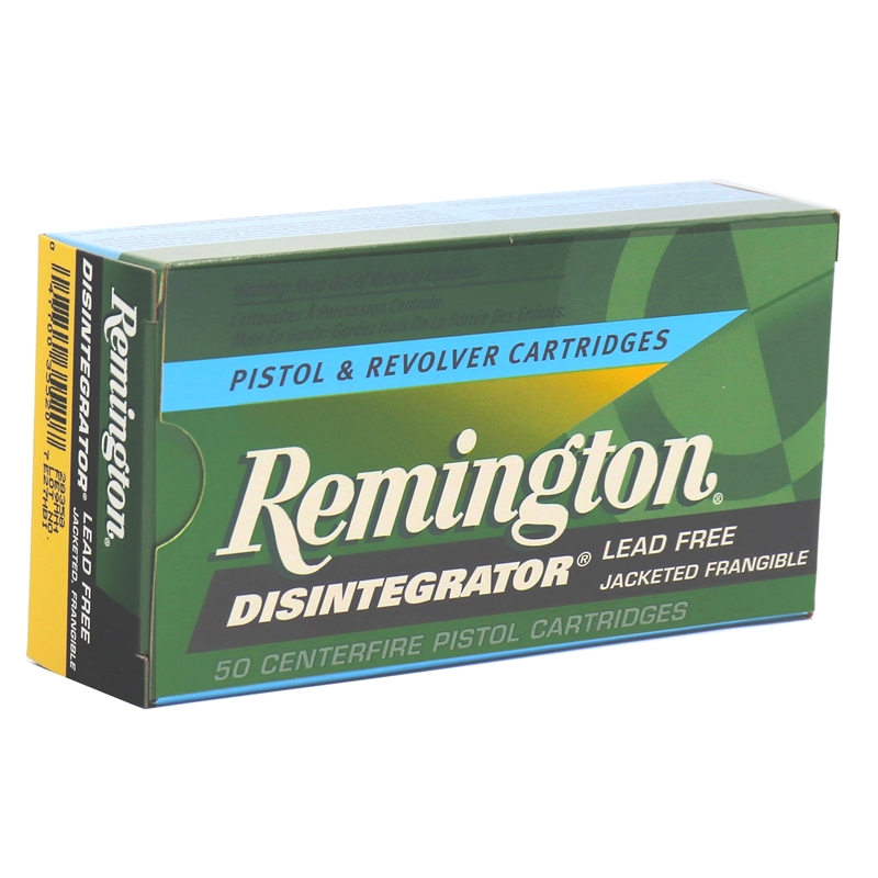 Remington Disintegrator Lead-Free 9mm Luger Ammo 101 Gr JF