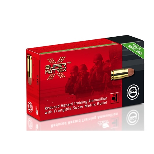 Geco Super Matrix 40 S&W Ammo 122 Grain Frangible Lead-Free