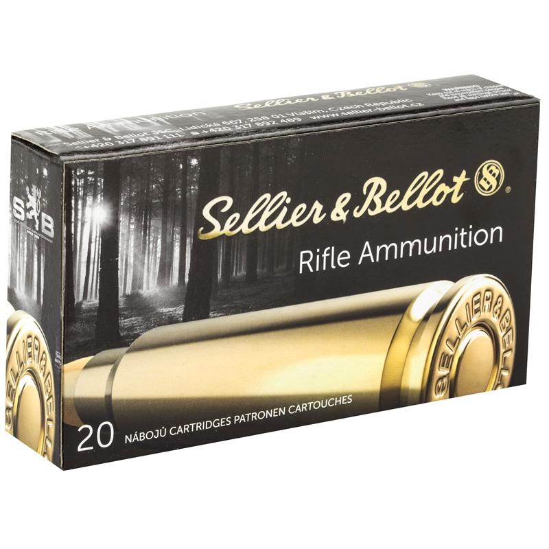 Sellier & Bellot 6.8mm Remington Ammo 110 Grain FMJ