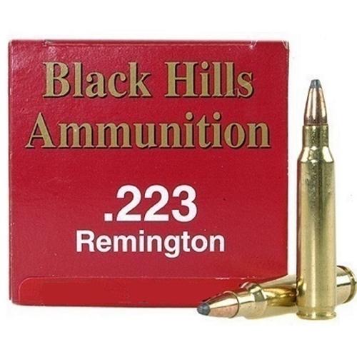Black Hills 223 Remington Ammo 40 Grain Hornady V-Max