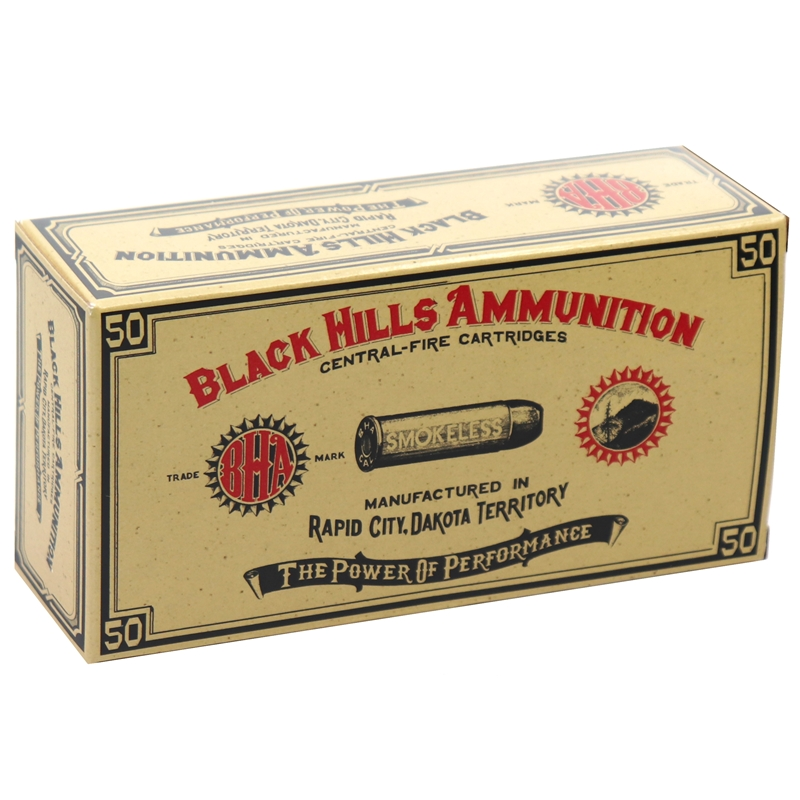 Black Hills Cowboy Action 38 Special Ammo 158 Grain LCN
