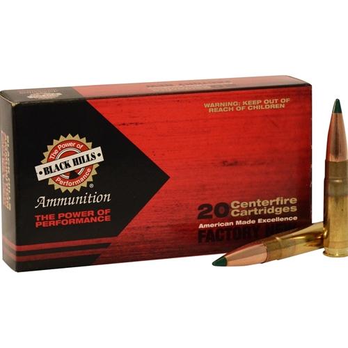 Black Hills 300 Whisper Ammo 125 Grain Sierra Tipped MatchKing