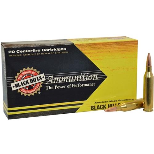Black Hills Gold 308 Winchester Ammo 150 Grain Hornady SST