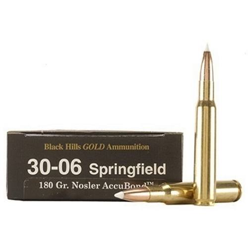 Black Hills Gold 30-06 Springfield Ammo 180 Grain Nosler AccuBond