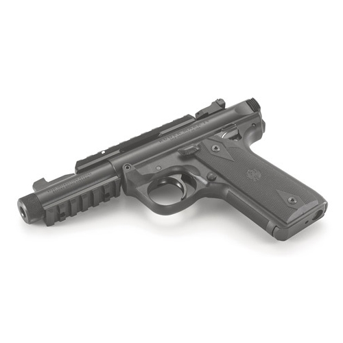 "Ruger Mark IV 22/45 Tactical 22 LR Semi-Auto 4.40"" 10 Rds Blk"