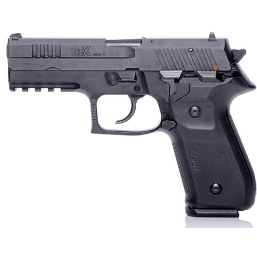 """Arex Rex Zero 1S 9mm Luger Semi-Auto 4.25"""" 17+1 Rds Blk"""