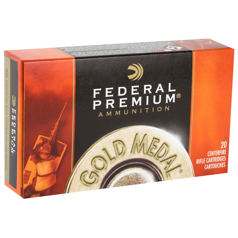 Federal Gold Medal 260 Remington Ammo 142 Grain Sierra MK HPBT