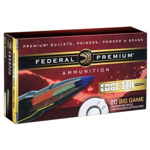 Federal Edge TLR 30-06 Springfield Ammo 175 Grain Polymer Tip BT