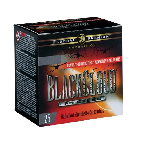 "Federal Black Cloud 12 Gauge Ammo 3"" 1-1/4oz #2 Steel Shot"