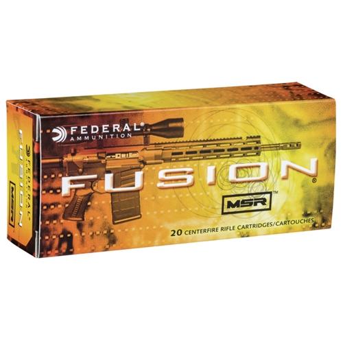 Federal Fusion MSR 308 Winchester Ammo 150 Grain SP